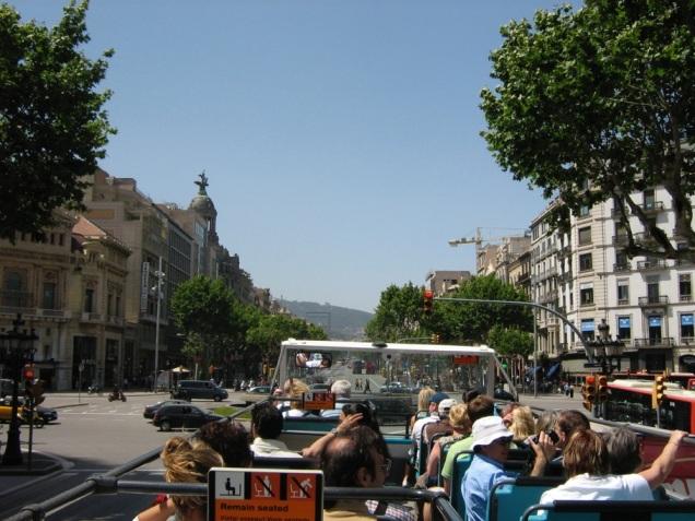 Barcelona vista de cima