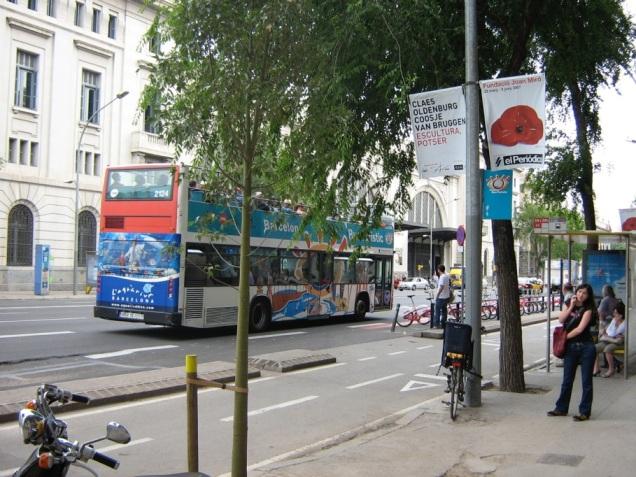 Bus Turistic em Barcelona
