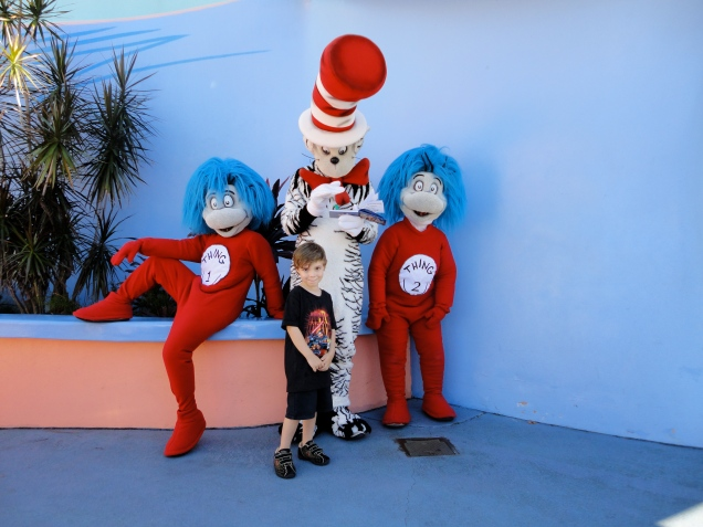 O Gatola da Cartola, Coisa 1 e Coisa 2, na Seuss Landing