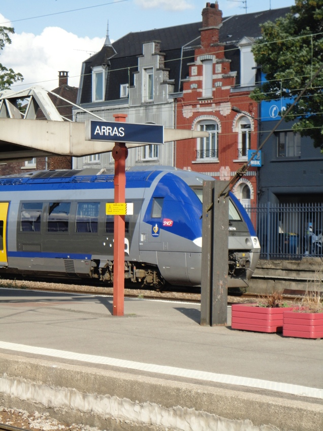 Minha velha amiga Estação de Arras, rumo ao Centre de Formation Philippe Campignion