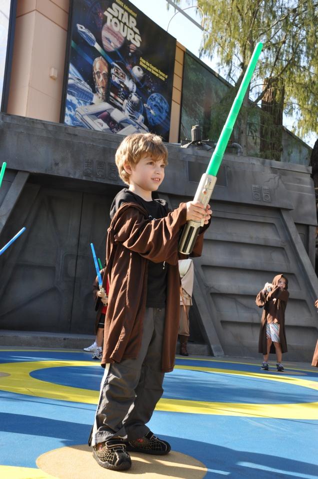 Orgulho de ser um aprendiz de Jedi