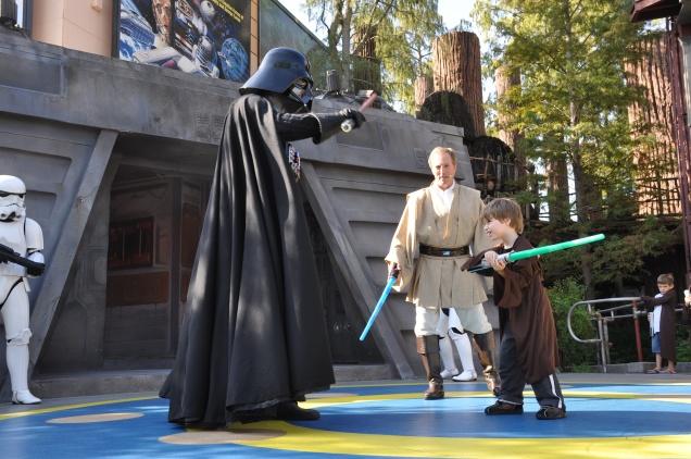 Dudu enfrenta Darth Vader