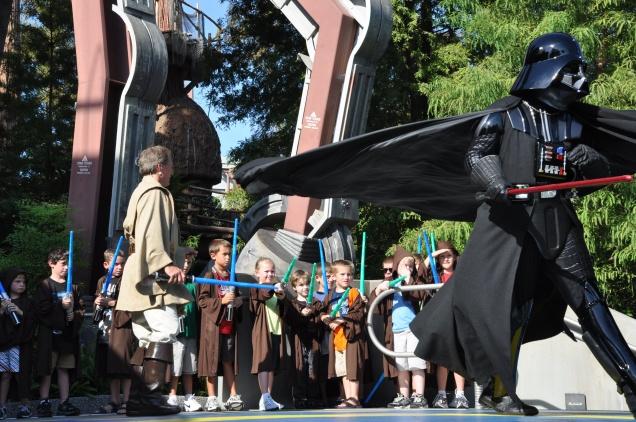 Hora de partir, Darth Vader!