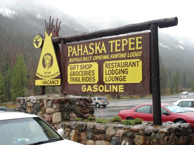Pahaska Tepee, onde ficava a cabana de caça de Buffalo Bill