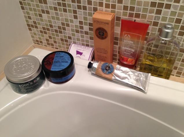 Para o banho ficar mais relaxante