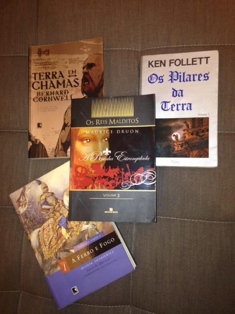 Livros que me levam pelo mundo afora...