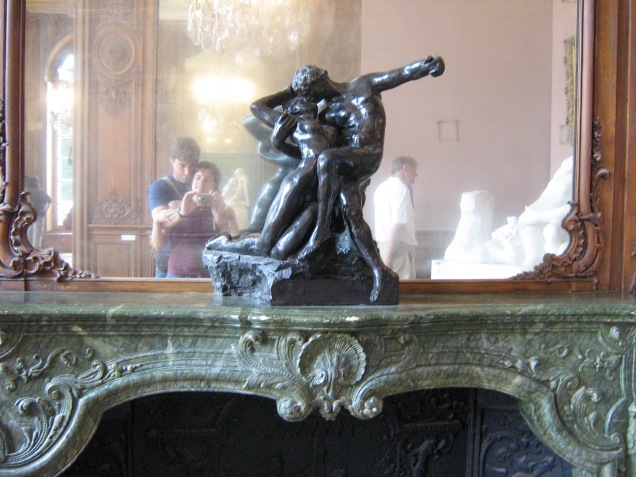 """Uma """"selfie"""" no Musée Rodin"""