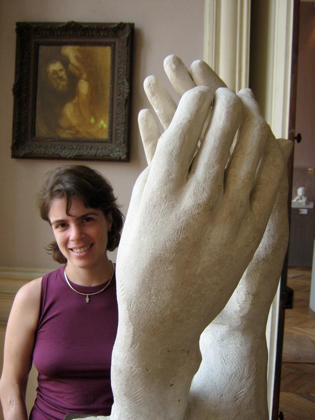 Dentro da casa onde viveu Rodin, algumas de suas mais belas obras