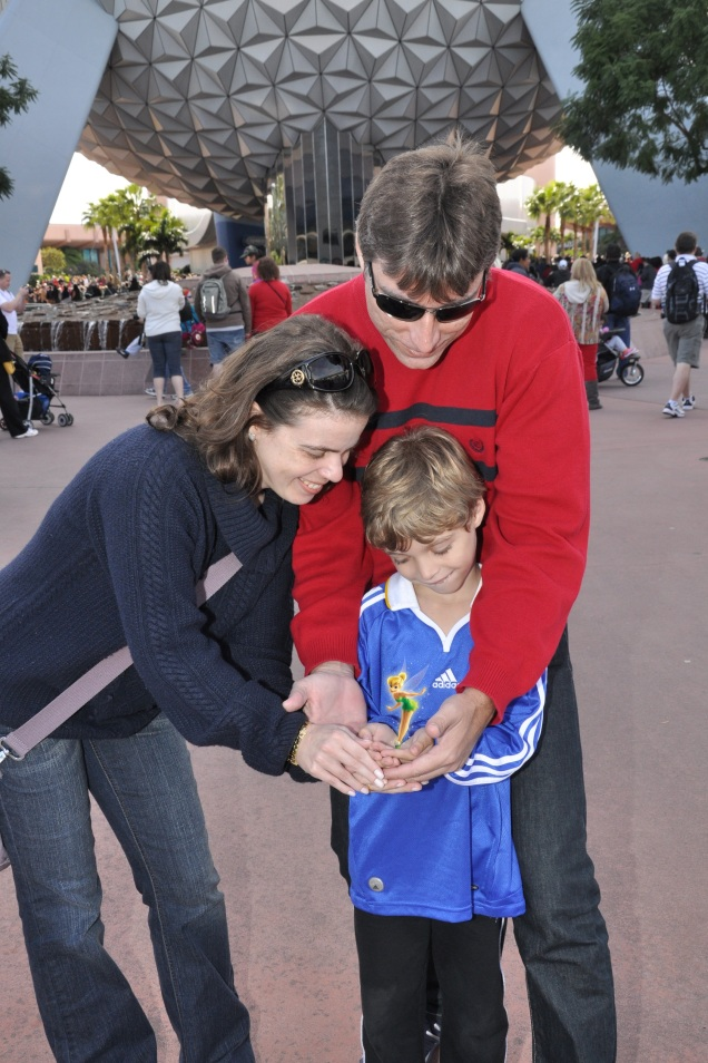 Cada vez que levamos o Dudu à Disney, é uma viagem inteiramente diferente. Essa é a magia Disney...