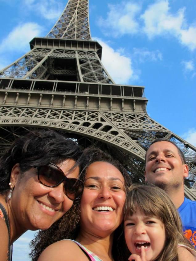 Priscilla, Guilherme, Marina e sua vovó Helena passaram momentos memoráveis juntos!