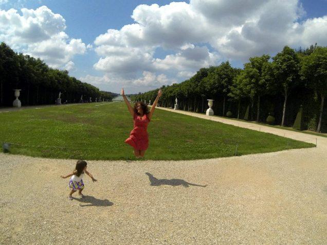 Europa com criança é tudo de bom!!!