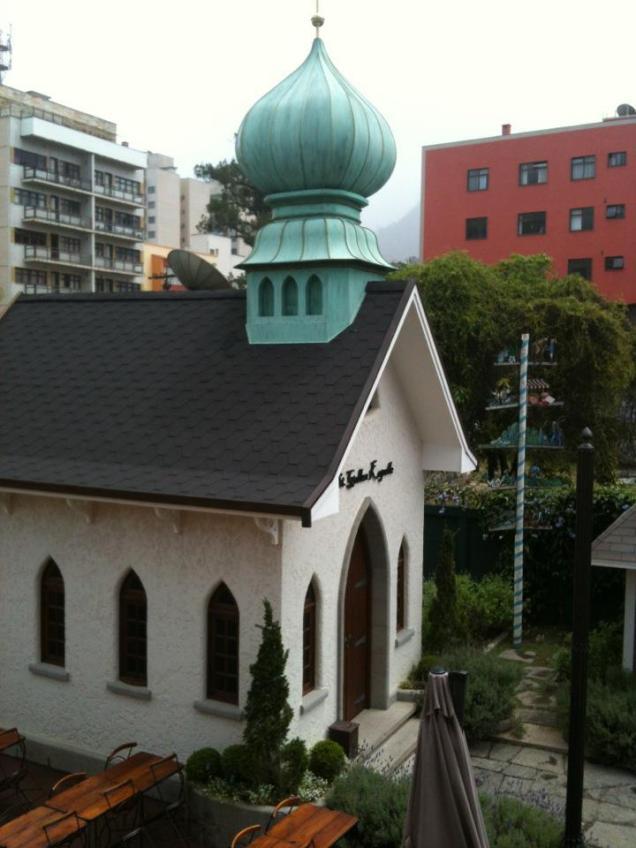A pequena capela da Vila St Gallen