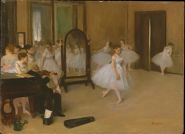 Degas: The dancing class