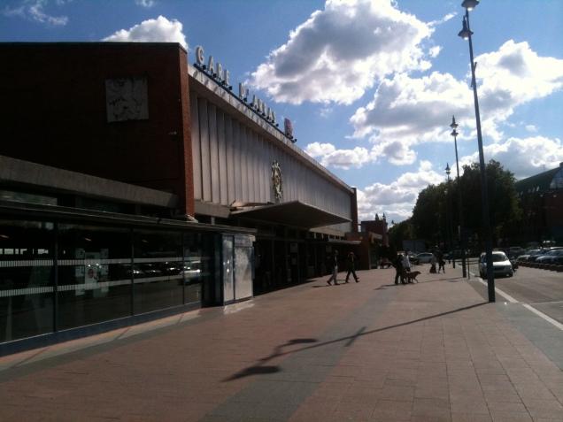 A Gare d'Arras, onde o Expresso GDS vai chegar! ;-)
