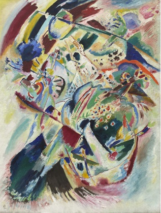 Kandinsky: Panel for Edwin R. Campbell n. 4