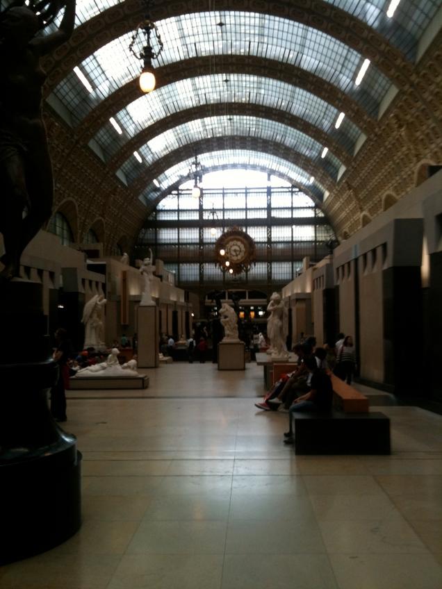 A beleza impactante do Musée d'Orsay