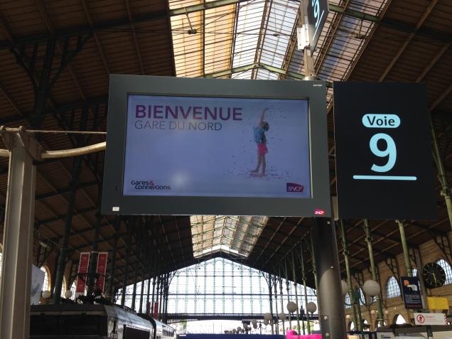 Bem vindos à Gare du Nord, uma das principais Estações de Trem de Paris