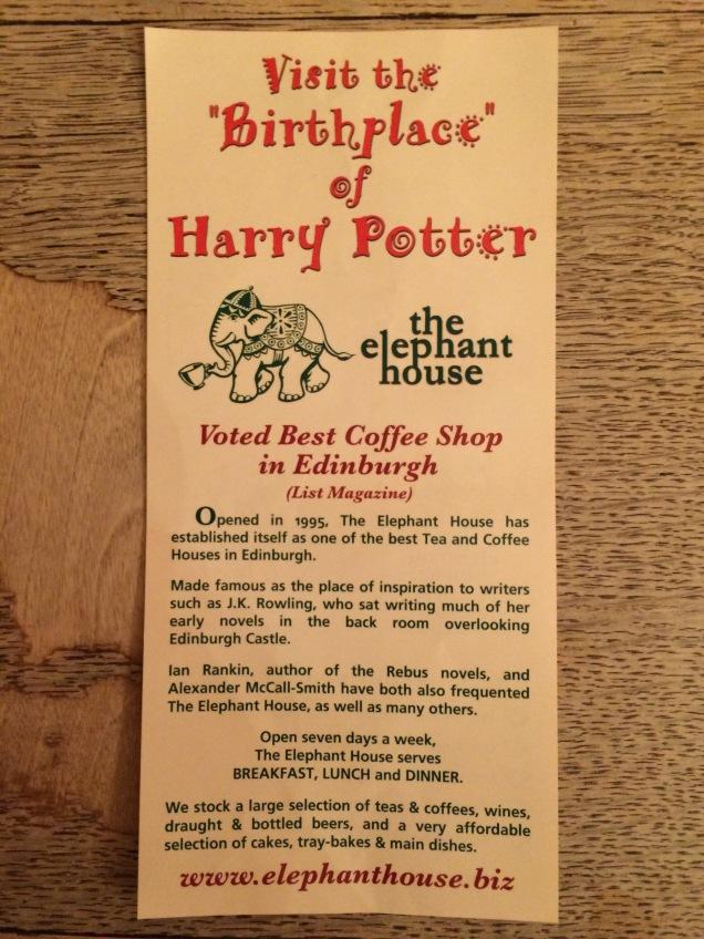 No pub The Elephant, as referências à sua cliente mais ilustre
