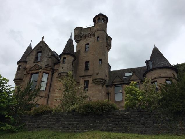 Broomhall Castle, nosso lar por uma noite
