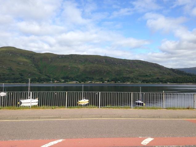 De frente para o Lago Linnhe